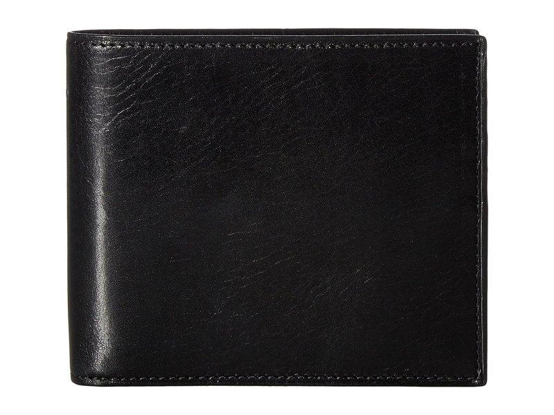 ボスカ メンズ 財布 アクセサリー Old Leather Collection - Credit Wallet w/ I.D. Passcase Black