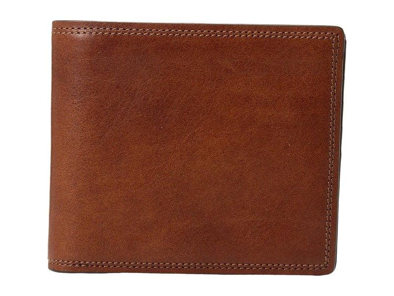 ボスカ メンズ 財布 アクセサリー Dolce Collection - Eight-Pocket Deluxe Executive Wallet w/ Passcase Amber