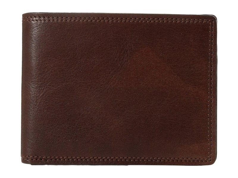 ボスカ メンズ 財布 アクセサリー Dolce Collection - Executive I.D. Wallet Dark Brown