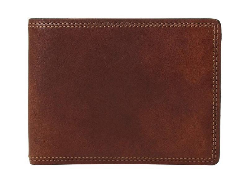 ボスカ メンズ 財布 アクセサリー Dolce Collection - Executive I.D. Wallet Amber