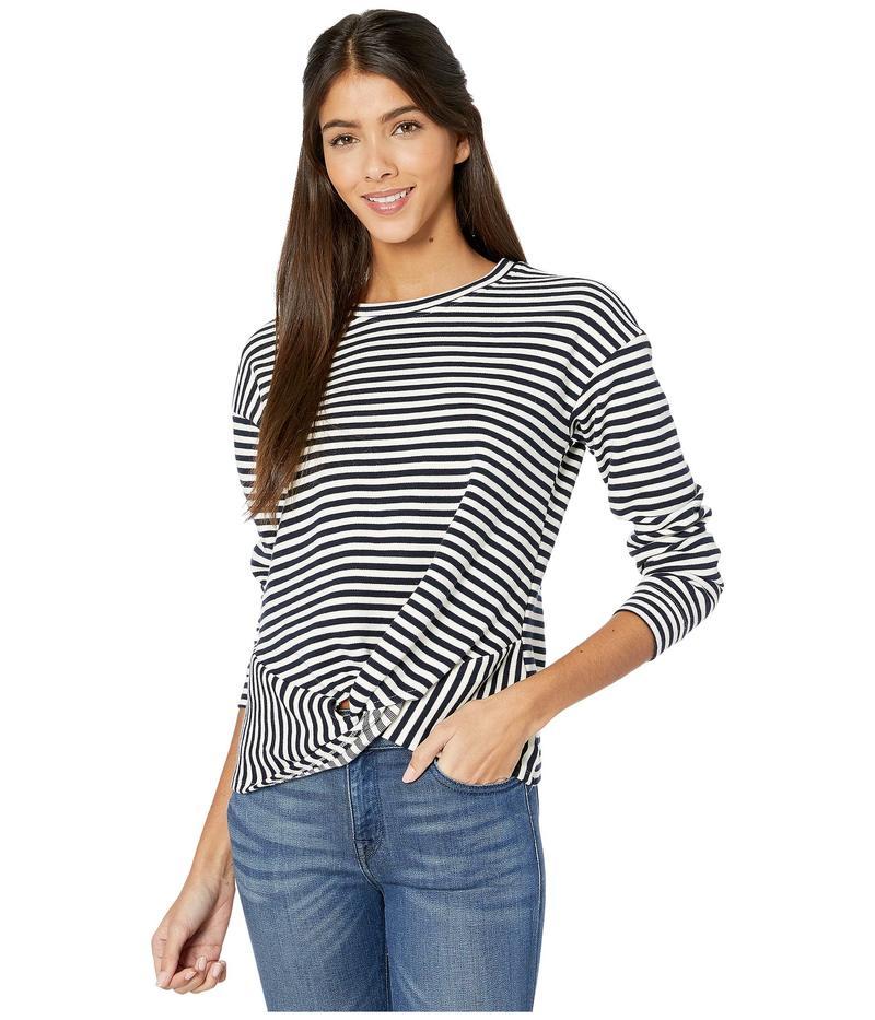 ビショップアンドヤング レディース ニット・セーター アウター Tradewind Sweatshirt Navy Stripe