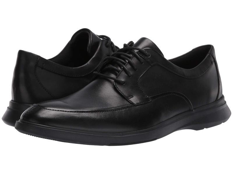 クラークス メンズ オックスフォード シューズ Un Lipari Walk Black Leather