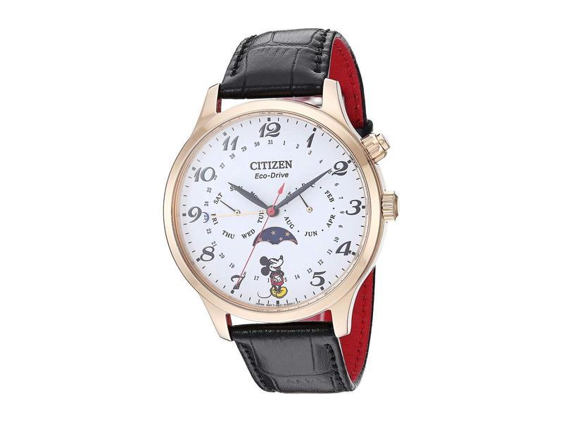 シチズンウォッチ メンズ 腕時計 アクセサリー Mickey Mouse AP1053-15W Black