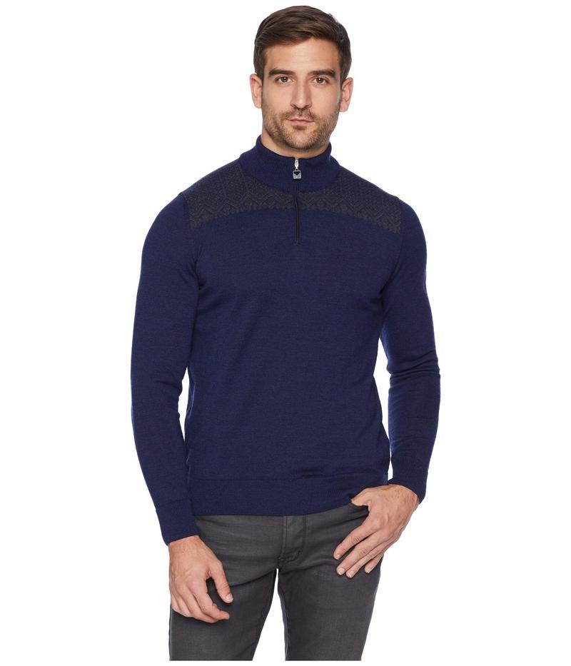 ダールオブノルウェイ メンズ ニット・セーター アウター Eirik Masculine Sweater C-Navy Melange/