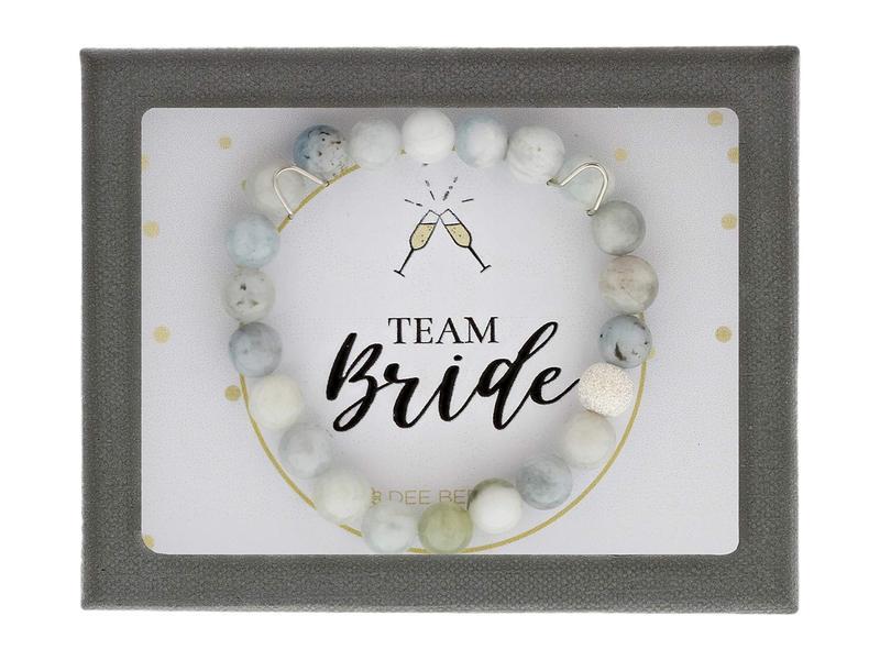 ディーバークレイ レディース ブレスレット・バングル・アンクレット アクセサリー Celebrations Team Bride Aquamarine Bracelet Blue