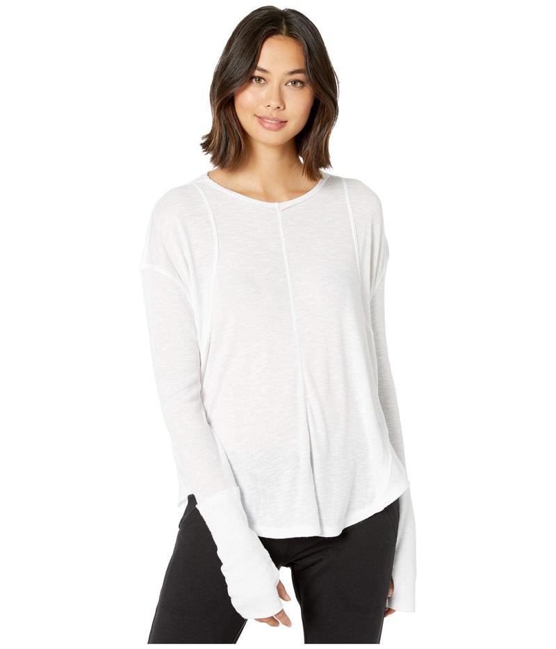フリーピープル レディース シャツ トップス Lay Up T-Shirt White