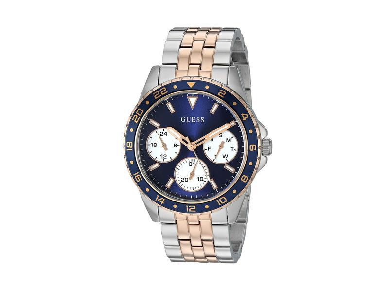 ゲス レディース 腕時計 アクセサリー U1187L3 Silver/Gold-Ton