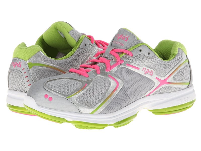 ライカ レディース スニーカー シューズ Devotion Chrome Silver/Lime Blaze/Atomic Pink 1