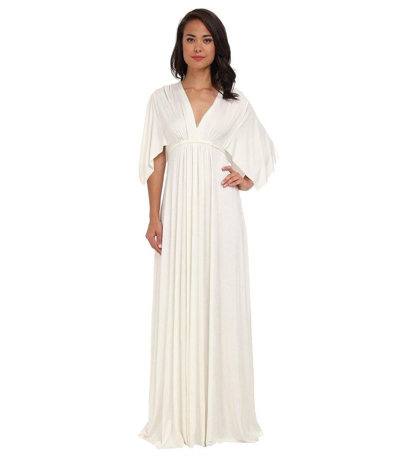 レイチェルパリー レディース ワンピース トップス Long Caftan Dress White