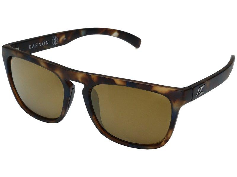 カエノン メンズ サングラス・アイウェア アクセサリー Leadbetter Oasis/Brown 12 Polarized Gold Mirror