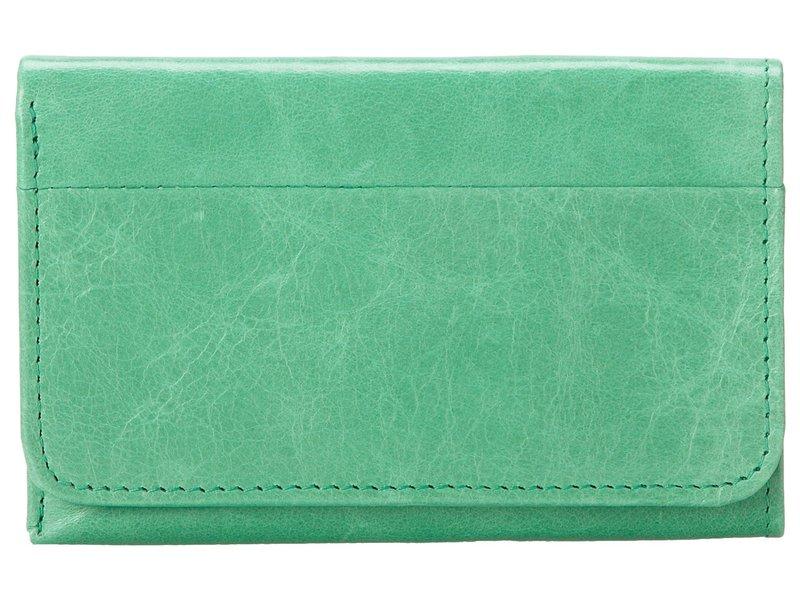 ホボ レディース 財布 アクセサリー Jill Trifold Wallet Mint Vintage Le
