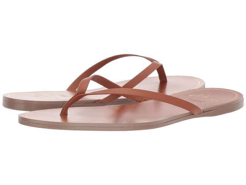 ジェイクルー レディース サンダル シューズ New Capri Leather Flip-Flop Roasted Pecan