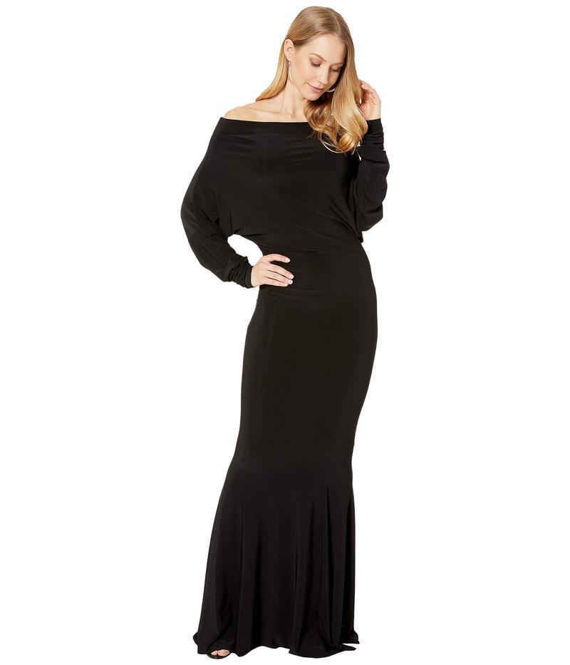 カマリカルチャー レディース ワンピース トップス All-In-One Fishtail Gown Black