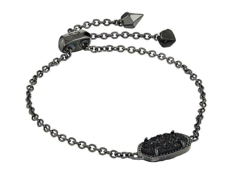 ケンドラスコット レディース ブレスレット・バングル・アンクレット アクセサリー Elaina Bracelet Gunmetal/Black