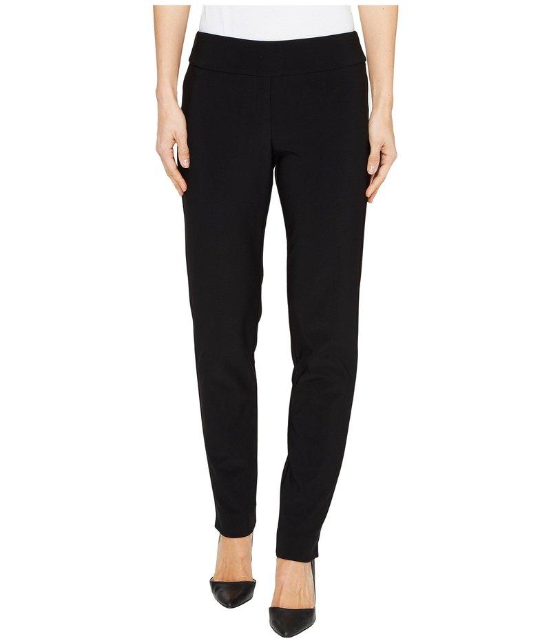 クレイジーラリー レディース カジュアルパンツ ボトムス Microfiber Long Skinny Dress Pants Black
