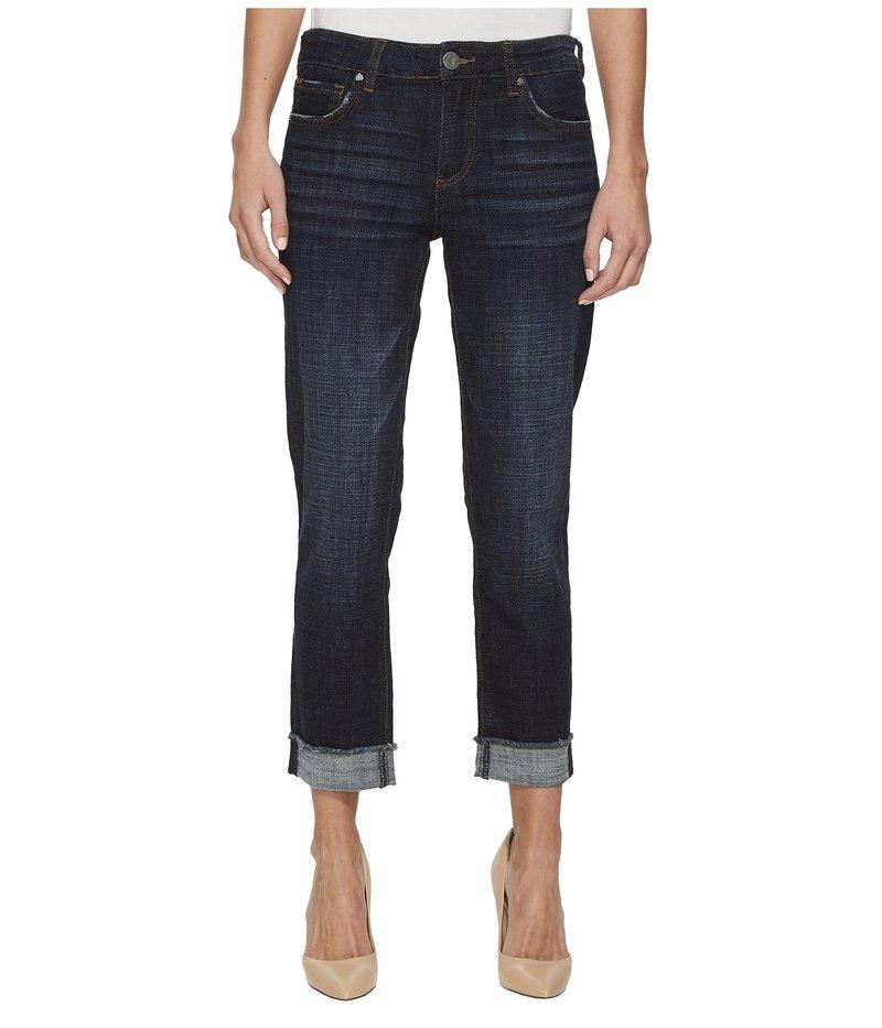 カットフロムザクロス レディース デニムパンツ ボトムス Amy Crop Straight Leg-Roll Up Frey Jeans Acknowledging/E