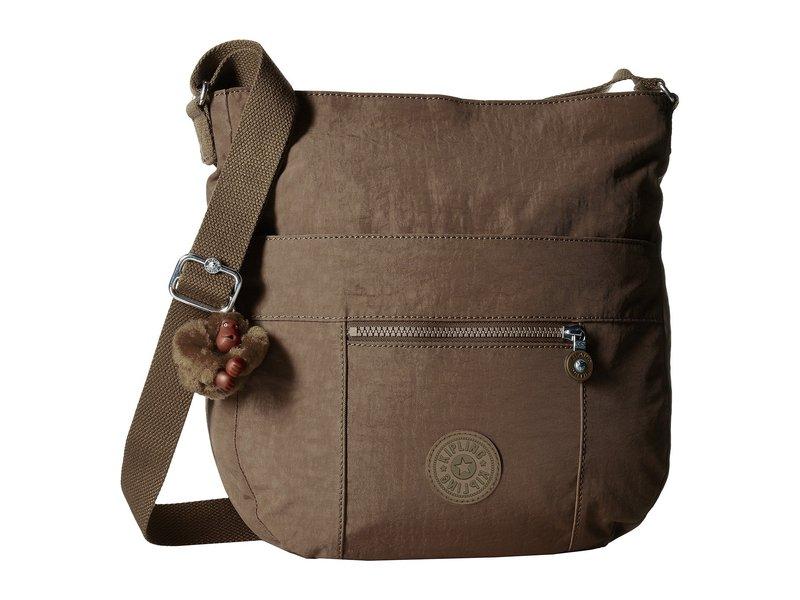 キプリング レディース ハンドバッグ バッグ Bailey Saddle Bag Handbag Soft Earthy Bei