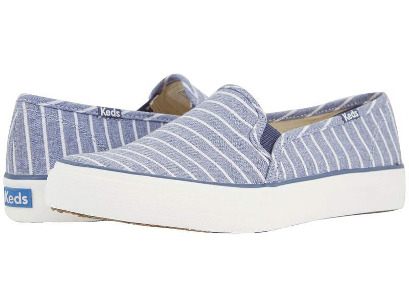 ケッズ レディース スニーカー シューズ Double Decker Breton Stripe Blue