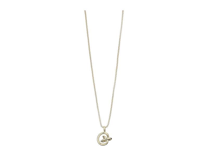 ケンドラスコット レディース ネックレス・チョーカー・ペンダントトップ アクセサリー Presleigh Small Long Pendant Necklace Gold Metal