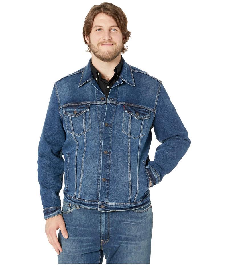 リーバイス メンズ コート アウター Big & Tall Trucker Jacket Colusa Stretch