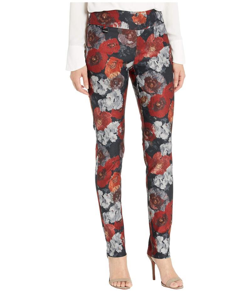 リゼッタ レディース カジュアルパンツ ボトムス Douro Floral Print Slim Pants Crimson