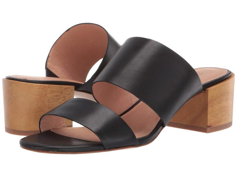 メイドウェル レディース ヒール シューズ Kiera Two-Strap Mule Sandal True Black