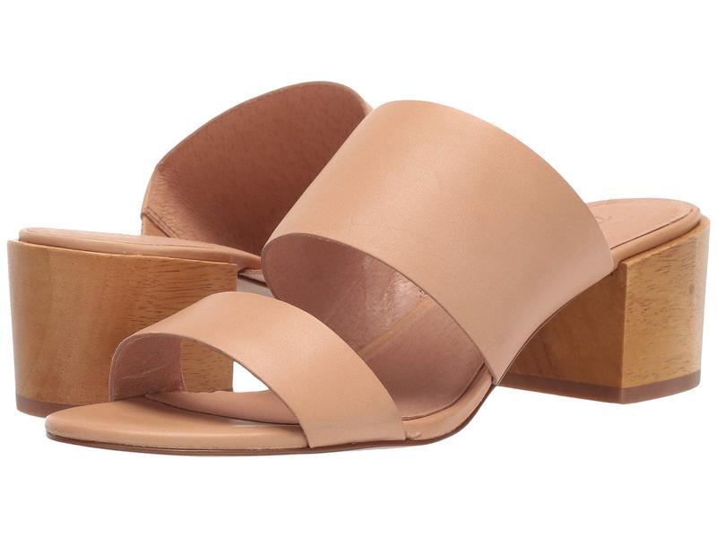 メイドウェル レディース ヒール シューズ Kiera Two-Strap Mule Sandal Vintage Beige