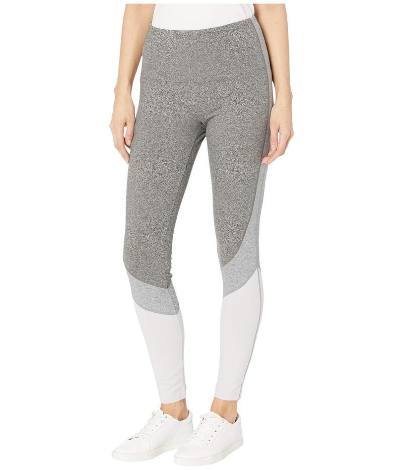 リジー レディース カジュアルパンツ ボトムス Oliva Cotton Spandex Color-Block Leggings Grey Combo