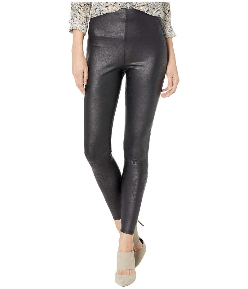 リジー レディース カジュアルパンツ ボトムス Matilda Foil Leggings in Feather Weight Faux Leather Black