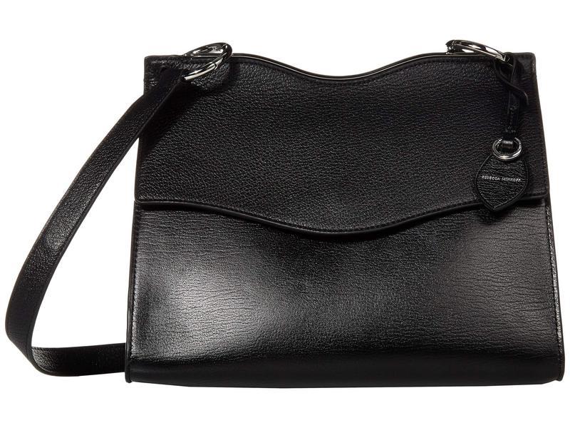 レベッカミンコフ レディース ハンドバッグ バッグ Dani Shoulder Bag Black