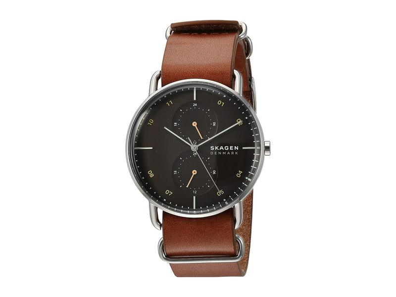 スカーゲン メンズ 腕時計 アクセサリー Horizont - SKW6537 Brown