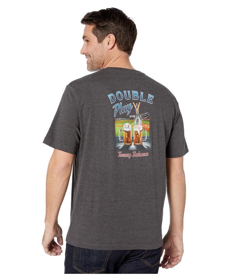 トッミーバハマ メンズ シャツ トップス Double Play T-Shirt Coal Heather