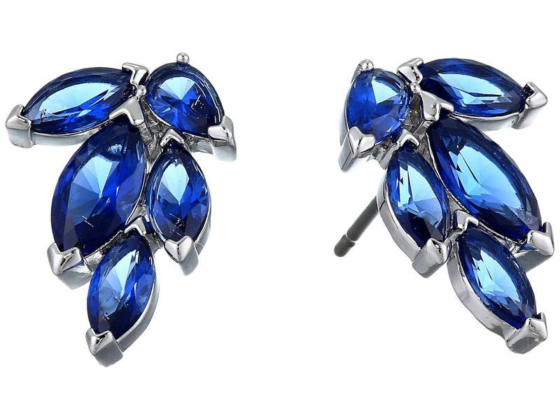 スワロフスキー レディース ピアス・イヤリング アクセサリー Louison Stud Pierced Earrings CZ Sapphire Blu