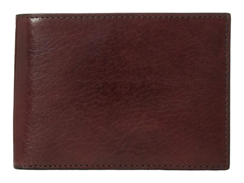 ボスカ メンズ 財布 アクセサリー Old Leather Collection - Credit Wallet w/ ID Passcase Dark Brown Leat