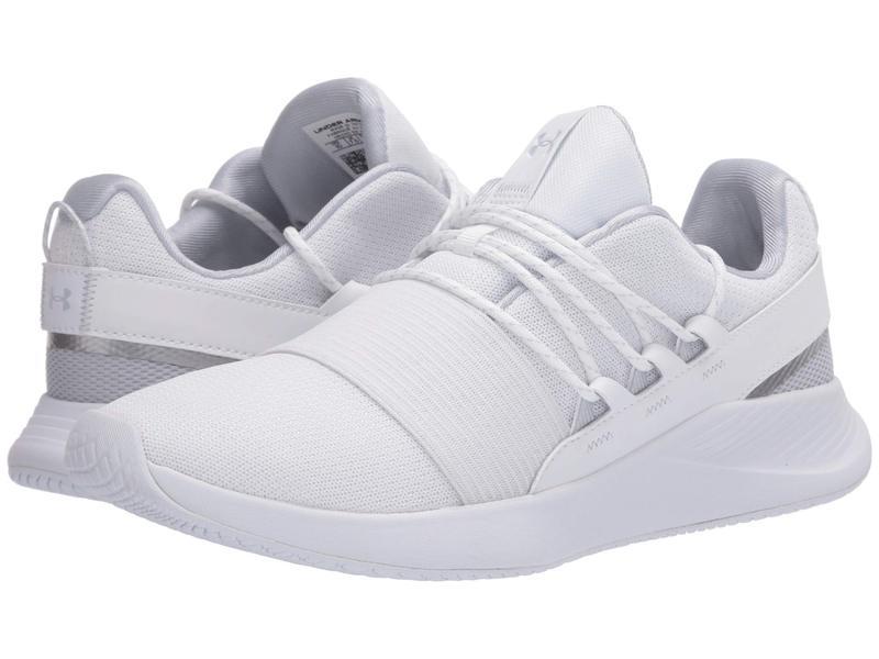 アンダーアーマー レディース スニーカー シューズ UA Charged Breathe LACE White/White/Whi
