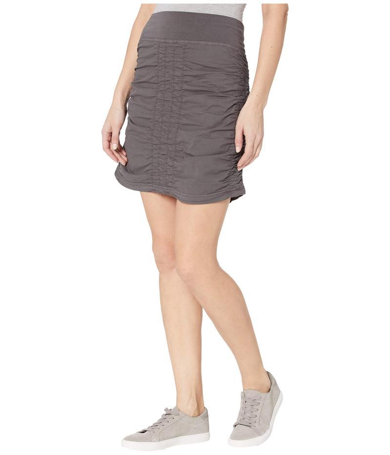 エックスシーブイアイ レディース スカート ボトムス Wearables Solid Trace Skirt Basalt Pigment