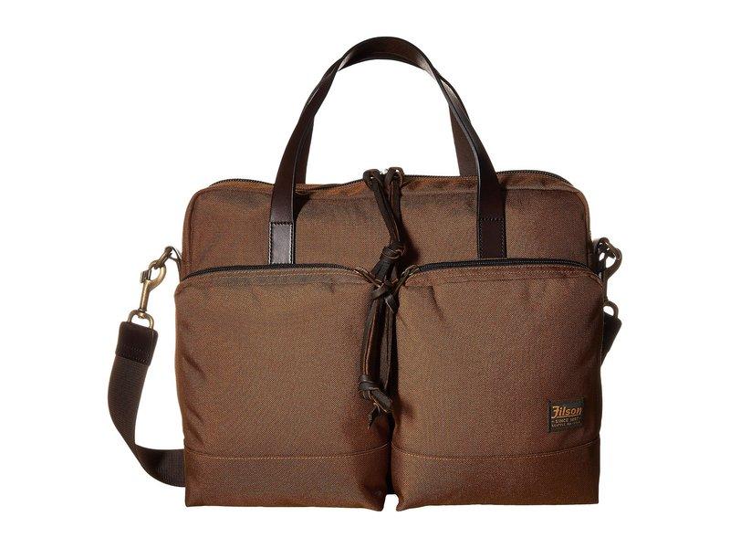 フィルソン メンズ ビジネス系 バッグ Dryden Briefcase Whiskey