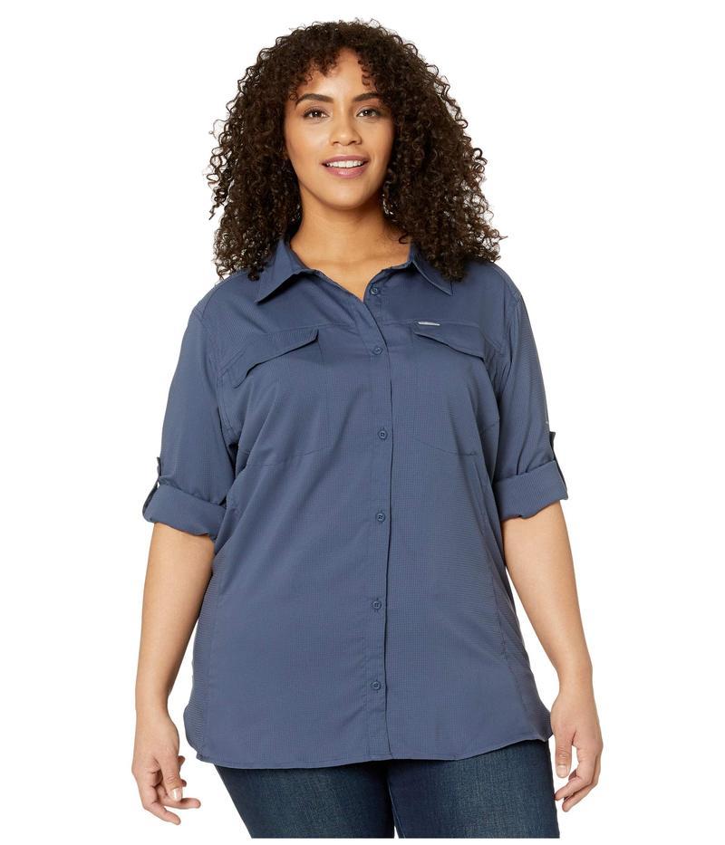 コロンビア レディース シャツ トップス Plus Size Silver Ridge Lite Long Sleeve Shirt Nocturnal