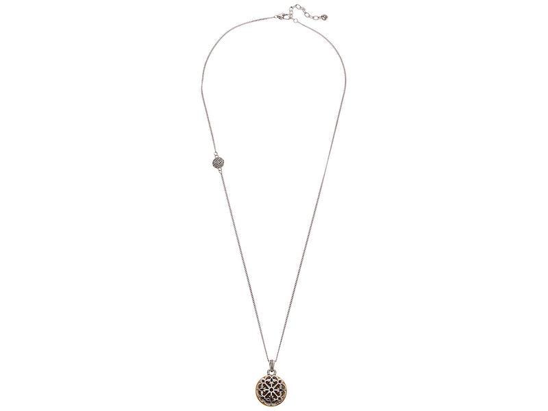 ブライトン レディース ネックレス・チョーカー・ペンダントトップ アクセサリー Ferrara Two-Tone Reversible Long Necklace Silver/Gold