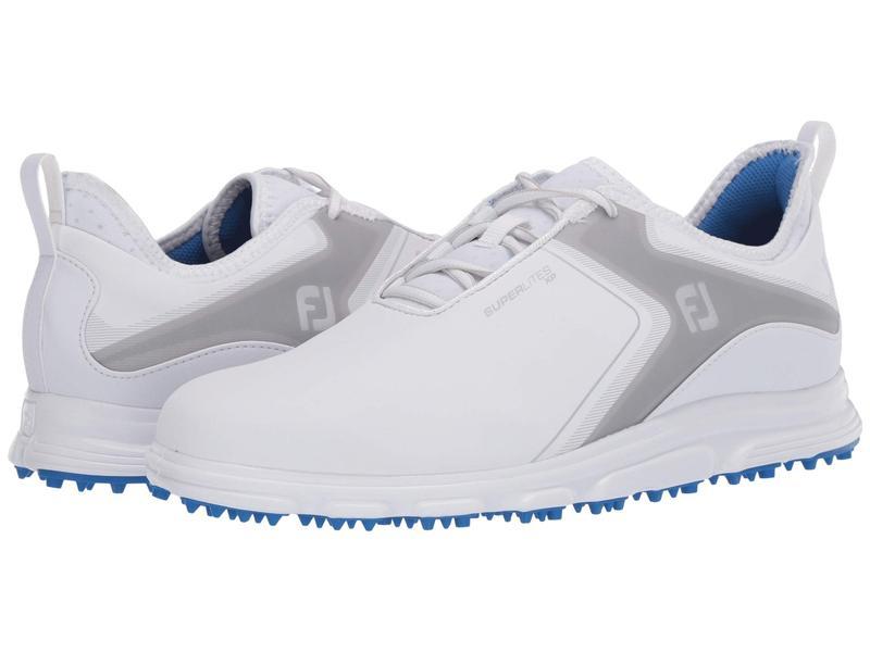 フットジョイ メンズ スニーカー シューズ Superlites XP White/Grey/Blac