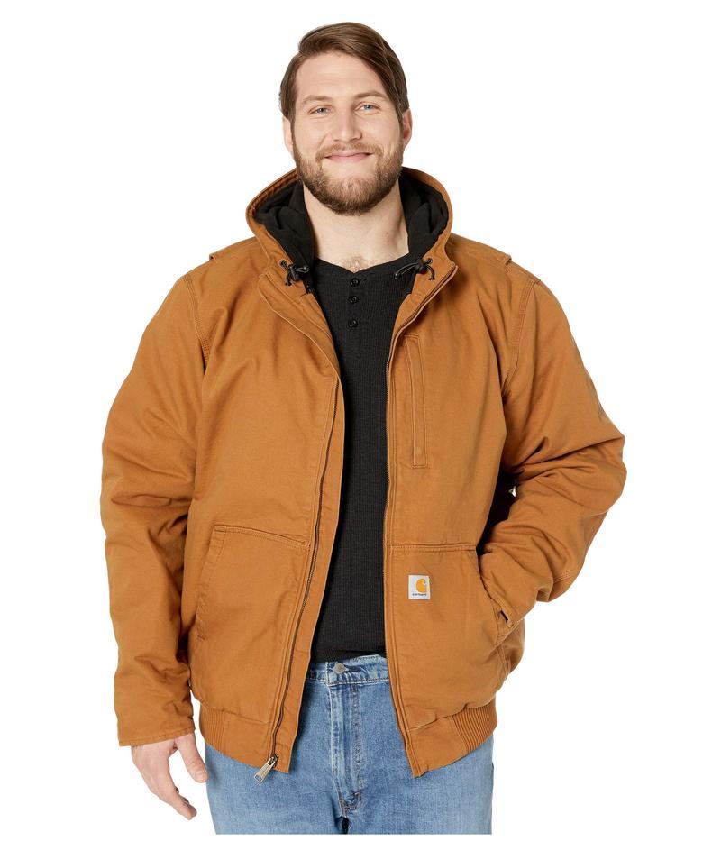 カーハート メンズ コート アウター Big & Tall Full Swing Armstrong Active Jacket Carhartt Brown