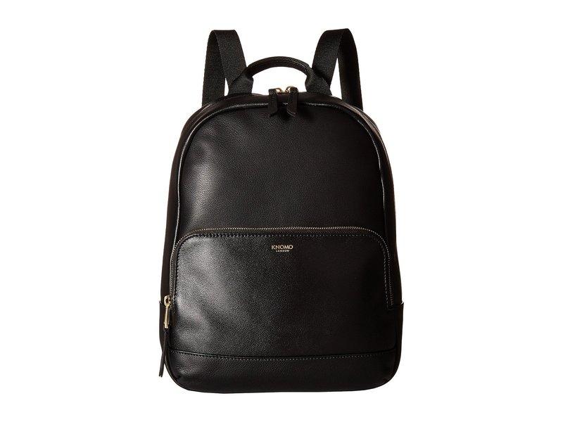 クノモ レディース バックパック・リュックサック バッグ Mayfair Luxe Mini Mount Backpack Black