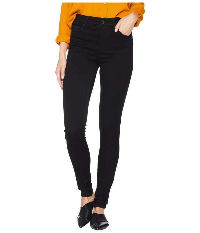 カットフロムザクロス レディース デニムパンツ ボトムス Mia High-Waisted Skinny Jeans in Black Black