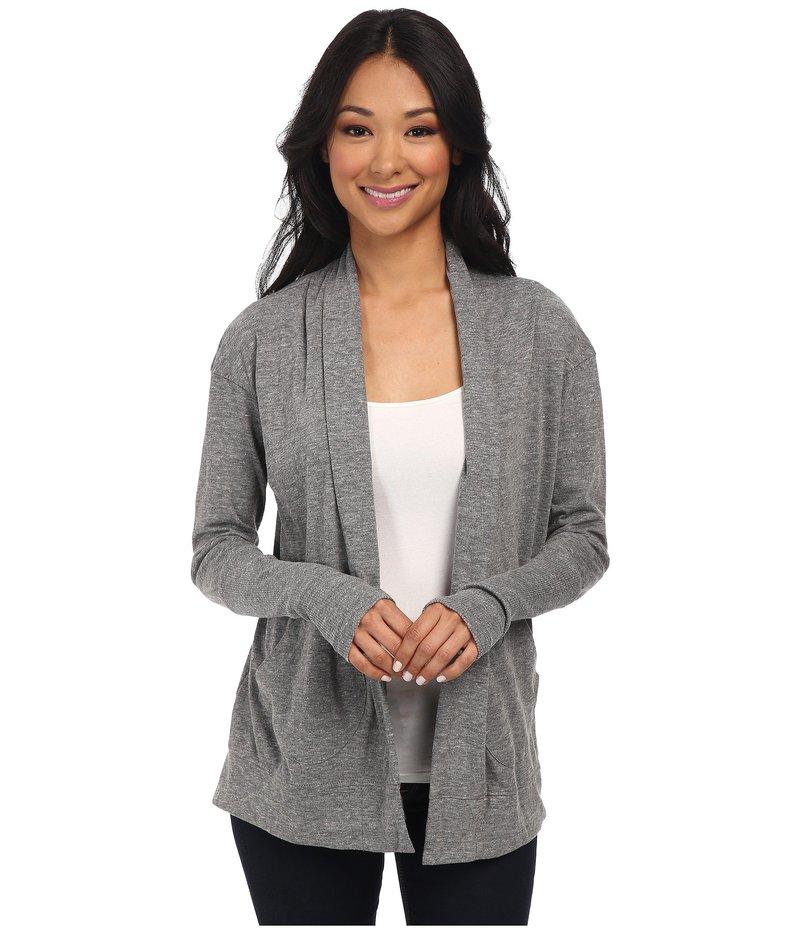 オルタナティヴ レディース ニット・セーター アウター Eco Jersey Rib Sleeve Wrap Eco Grey