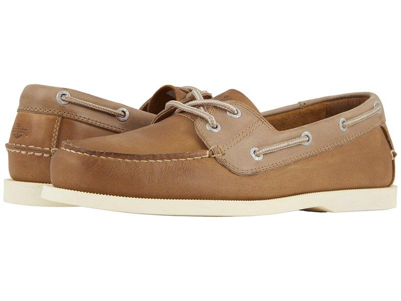 ドッカーズ メンズ デッキシューズ シューズ Vargas Boat Shoe Tan Crazyhorse