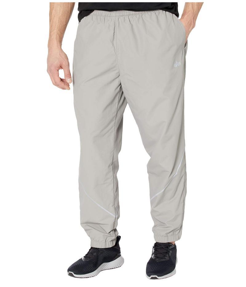 アルファインダストリーズ メンズ カジュアルパンツ ボトムス PT Track Pants New Silver