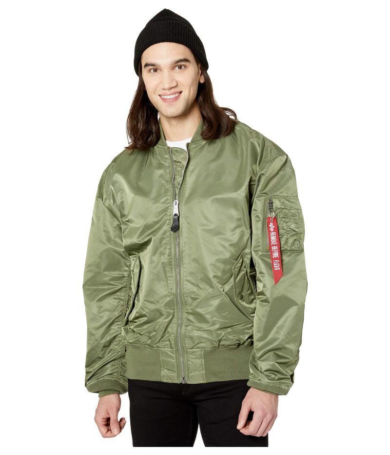 アルファインダストリーズ メンズ コート アウター L-2B Loose Flight Jacket Sage
