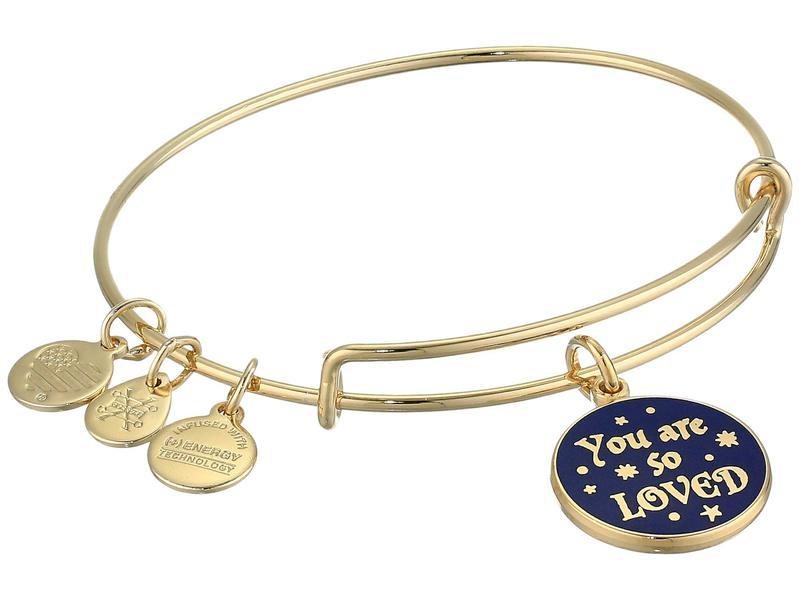 アレックスアンドアニ レディース ブレスレット・バングル・アンクレット アクセサリー Harry Potter Bangle Bracelet Gold/You Are So