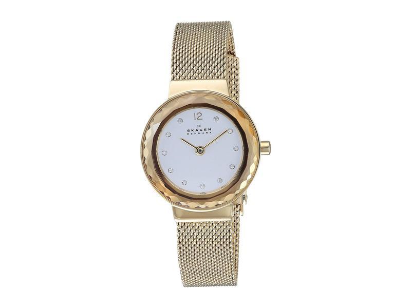 スカーゲン レディース 腕時計 アクセサリー Leonora - SKW2800 Gold
