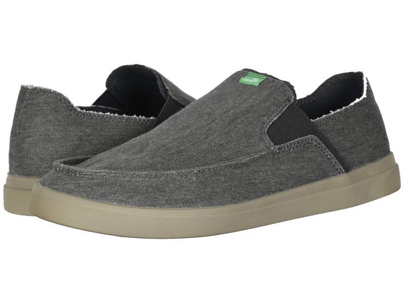 サヌーク メンズ スニーカー シューズ Pick Pocket Slip-On Sneaker Dark Charcoal